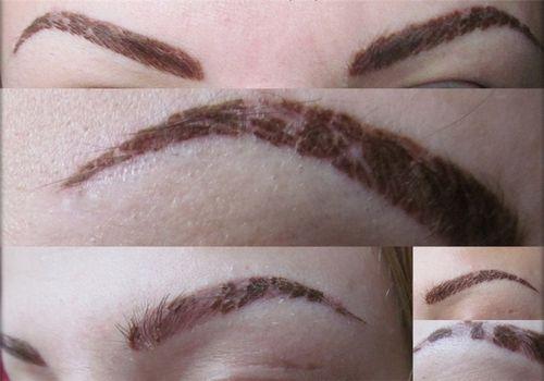 Коррекция татуажа бровей, когда необходимо приходить на коррекцию
