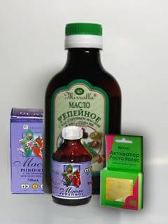 Виды репейного масла