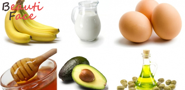 Продукты для маски из белка