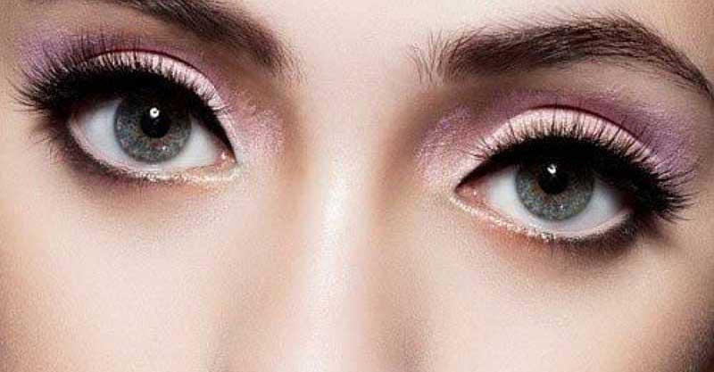 наращивание уголки на выпуклых глазах