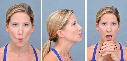 упражнения для исправления симметрии лица