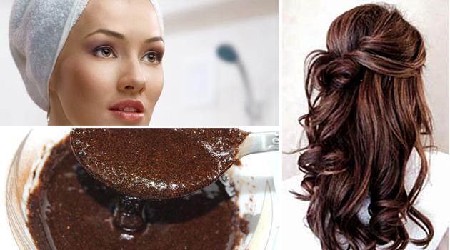 Использование кофе в масках для волос