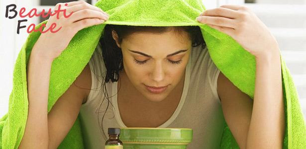 Как паровые ванночки действуют на кожу лица