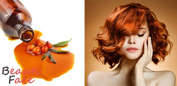 Облепиховое масло для волос: как залечить повреждённые и секущиеся кончики