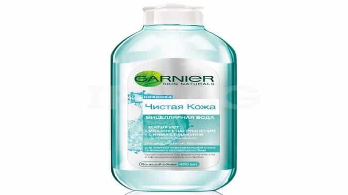 Вода мицеллярная для жирной кожи от Garnier