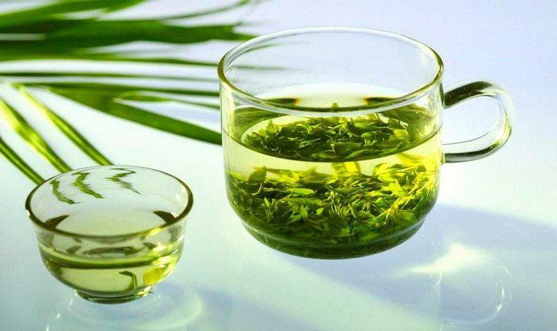 зеленый чай как средство для роста ресниц