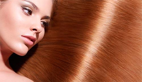глянцевый блеск на волосах после глазирования