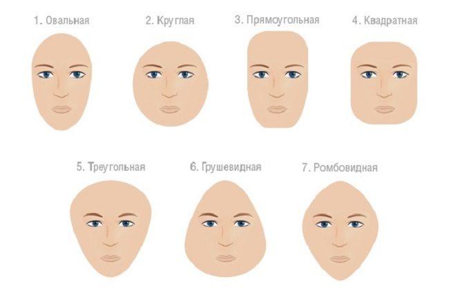 Какими бывают лица?
