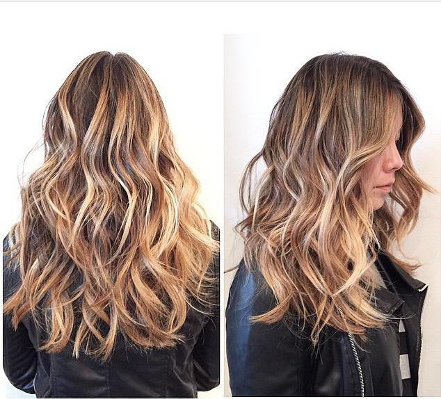 Выгоревшие волосы