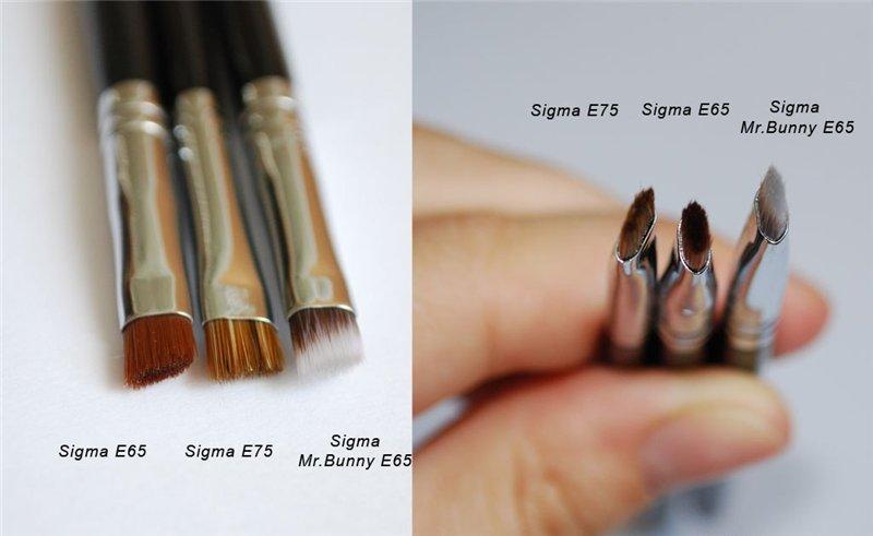 Чтобы быстро своими руками справиться с оформлением бровей, подберите подходящую кисть