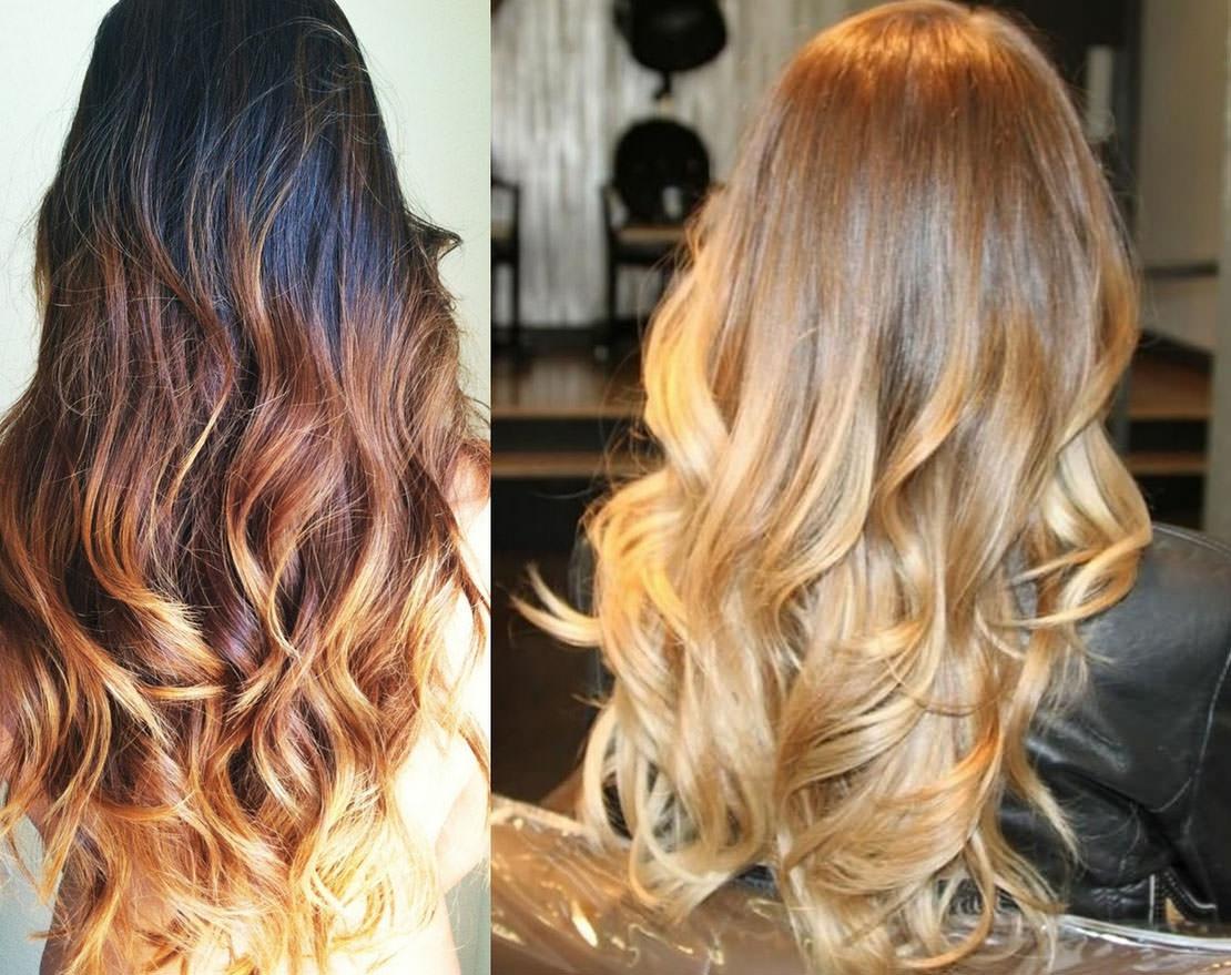 Как добиться эффекта выгоревших волос в домашних условиях?
