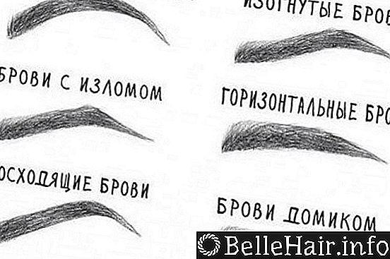 Выполнение красивых и идеальных бровей своими руками