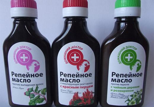 Репейное масло для ресниц