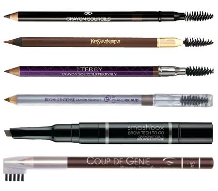 Основные правила выбора карандаша для бровей