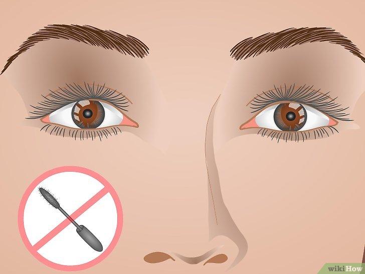 Изображение с названием Curl Your Eyelashes Without an Eyelash Curler Step 13
