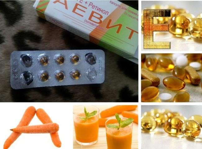 Домашние мероприятия с аптечными витаминами